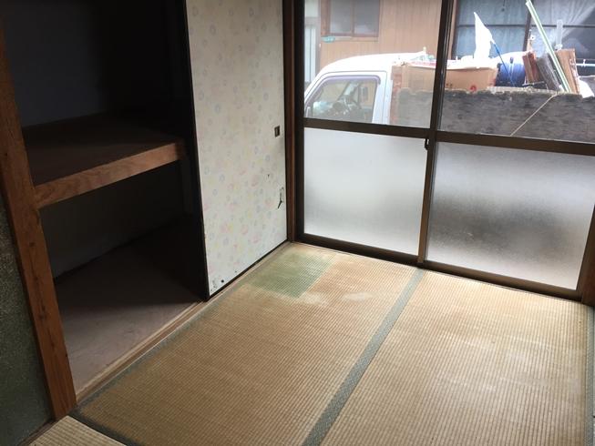【松山市立花】平屋1件の遺品整理②