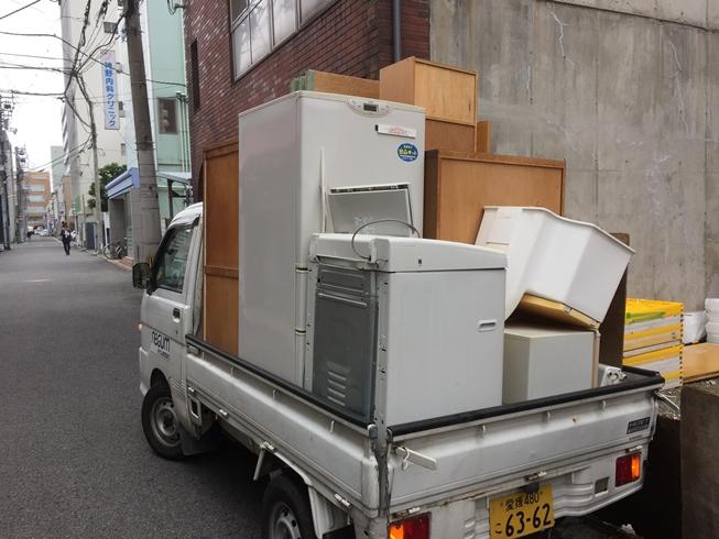 【松山市湊町】家具や冷蔵庫、洗濯機の回収