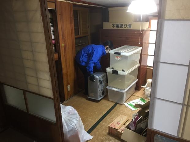 松山市別府町の遺品整理②