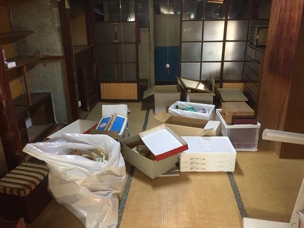 松山市別府町の遺品整理③